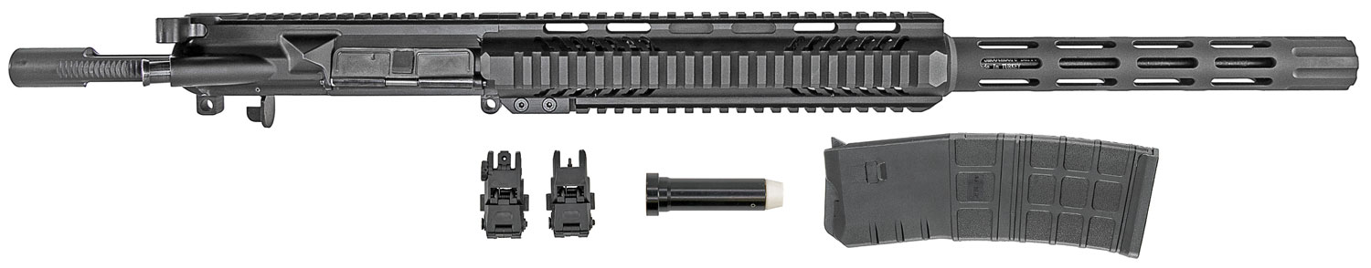 IMG .410 Complete Upper Receiver for AR-15 with 10 RD Magazine, Flip Up Sights, & Buffer